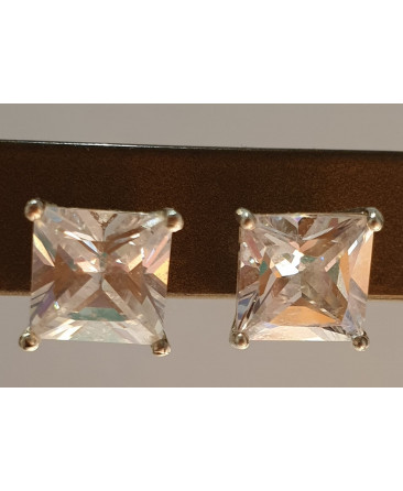Square Inset Earrings