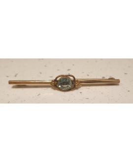 Bar Brooch Rolled Gold