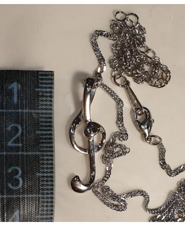 Treble clef Necklace