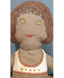 Lovely vintage 1970's rag doll
