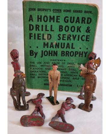 Lead soldiers / home guard drill book and field service manual