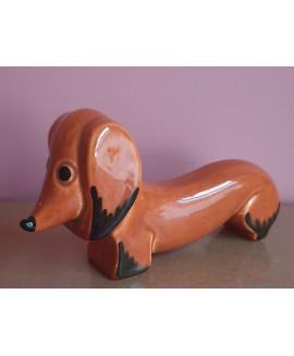 ceramic studio dachshund