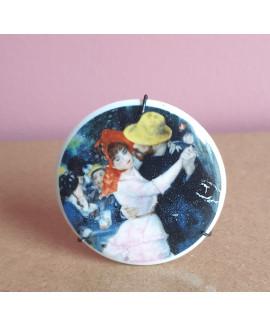 Staffordshire ceramic picture