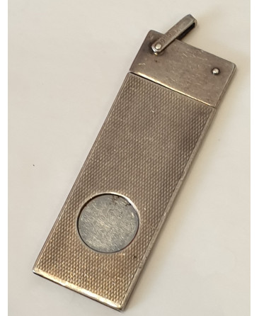 silver guillotine cigar cutter