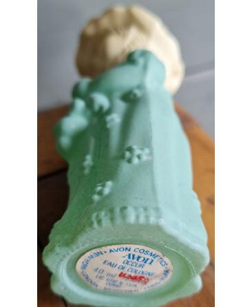 Avon scent bottle child with doll