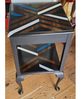 Fabulous upcycled side table