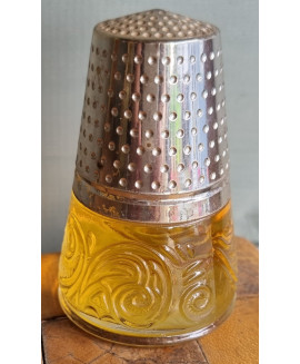 Avon scent bottle in the form of a thimble