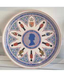 wedgwood silver jubilee plate